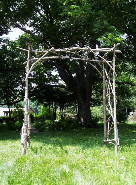Garden Arch Vines Rustic Wedding Arch And Reuse In The Garden With A