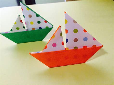 yacht origami origami yacht 折り紙 ヨット の折り方 doovi