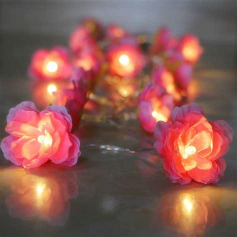 led flower string lights get cheap string lantern lights diy aliexpress