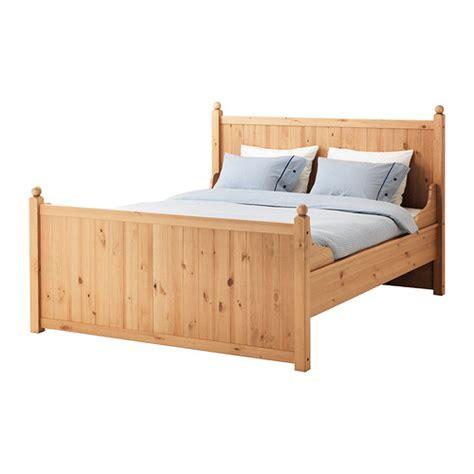 ikea bed frames king hurdal bed frame king ikea