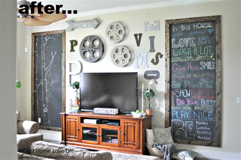 How To Decorate Mirror At Home christmas chalkboard fireplace first home love life