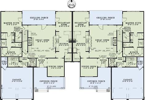multi family plan 82263 at familyhomeplans com