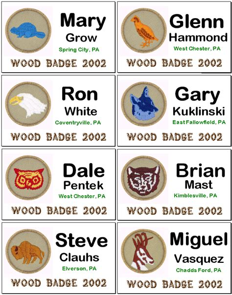 woodworking badge woodwork boy scout wood badge pdf plans