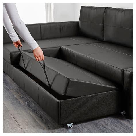 corner beds with storage friheten corner sofa bed with storage bomstad black ikea