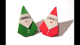 Origami Santa Claus Easy Origami How To Make
