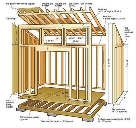 shed home plans top 25 best lean to shed ideas on lean to