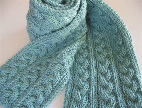 cable knit scarf pattern free 28 best images about reversible knits on