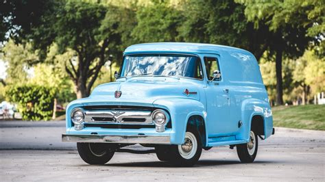 Ford Trucks by 1956 Ford F100 Panel Truck