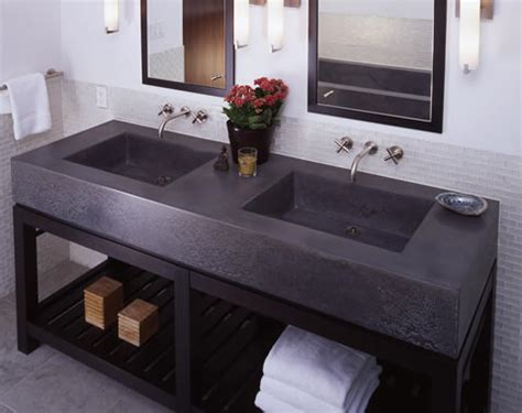 Concrete Vanity Top by Concrete Benchtops Melbourne Benchmark Benchtops