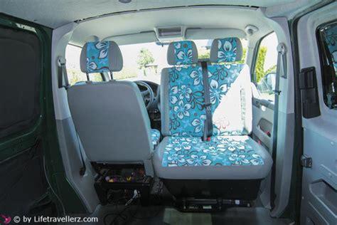 Schonbez Ge Auto T5 vw t5 ausbau teil 8 autositze im vw bus neu beziehen