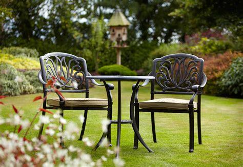 metal set hartman amalfi bistro set garden world