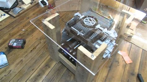 cave coffee table vw beetle engine cave coffee table