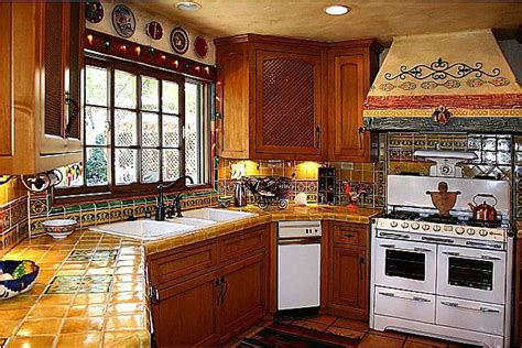 mexican tile kitchen ideas mexican kitchen decorations afreakatheart