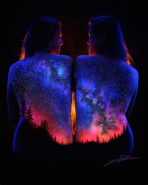 blacklight painting bodyscapes spectacular black light photography