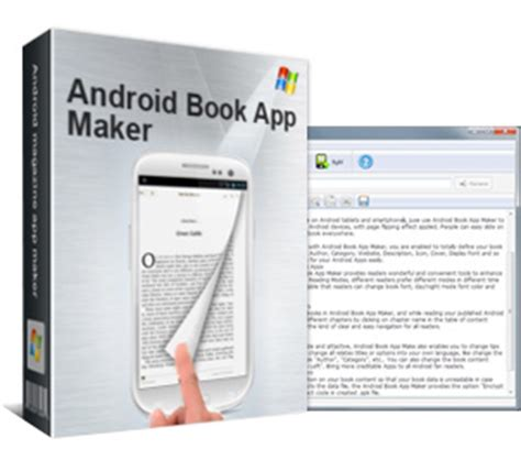 picture flip book app android book app maker build android book apps from text