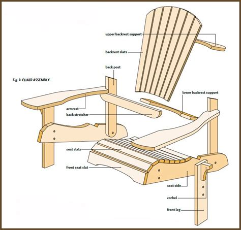 Folding Adirondack Chair Plans by 20 Best Adirondack Chair Plans Images On