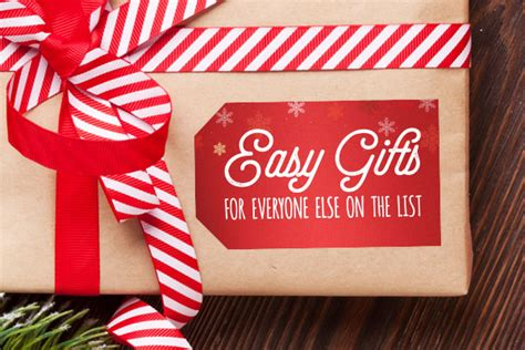 gift ideas for everyone easy gifts for everyone else on the list stickeryou