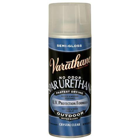 spray paint at home varathane 11 25 oz clear semi gloss spar urethane spray