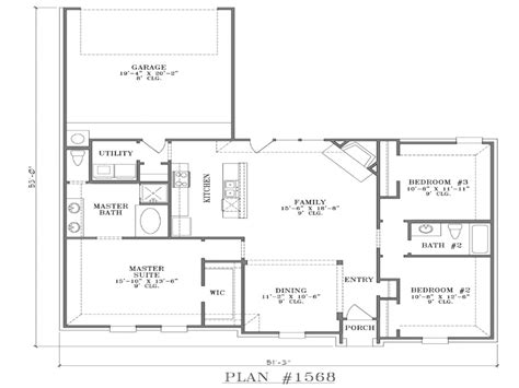 house plans with open floor plan modern open floor plans single story open floor plans with