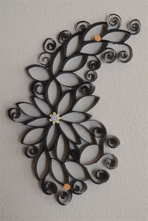 toilet paper roll crafts wall how to of wall using paper rolls the