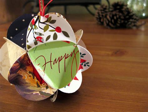 how to make card ornaments the complete guide to imperfect homemaking what to do