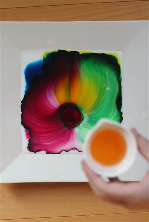 cool kid crafts all you need is milk food coloring and dish soap so cool