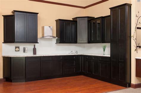 ktichen cabinets shaker java kitchen cabinets sle door rta all wood in