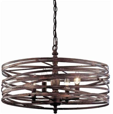 pasco 4 light cage chandelier modern chandeliers by