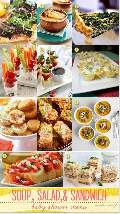 soup kitchen menu ideas baby shower food ideas baby shower easy menu ideas