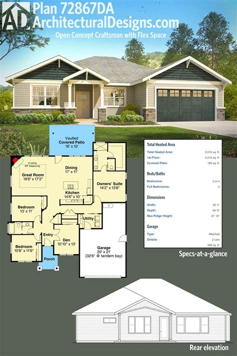 open concept home plans 25 best ideas about one level homes on one