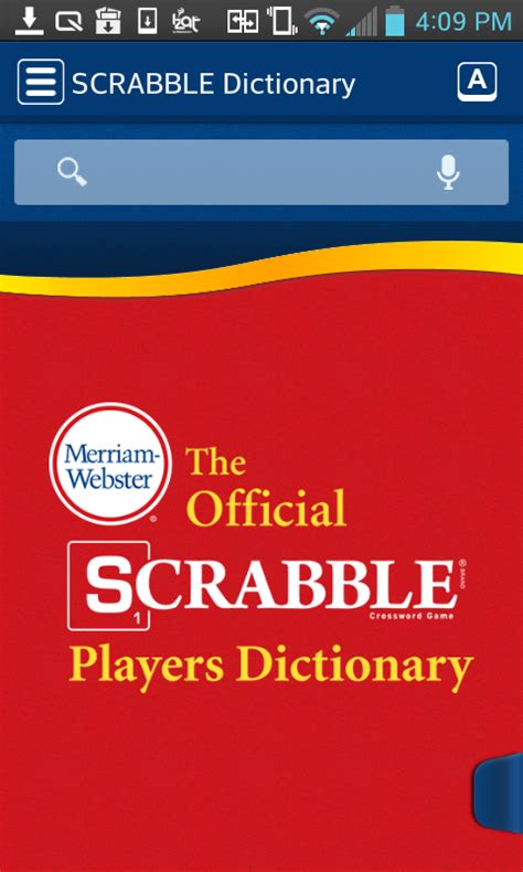 scrabble dictionary scrabble dictionary 2 0 version android apk free