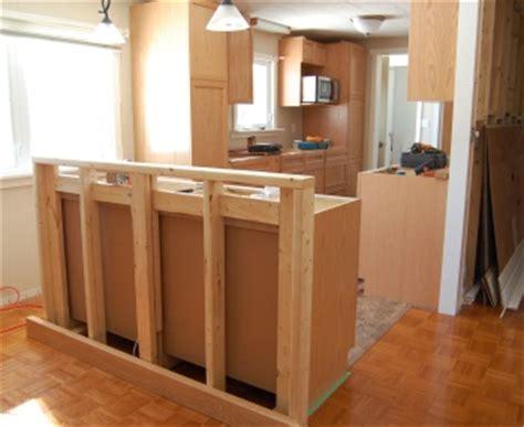 how to build a kitchen island bar renovation story kitchen rebuild housecraft diy house garden and interior design