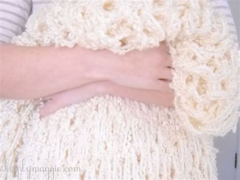 how to bind knitting a scarf arm knit blankets blankets and knits on