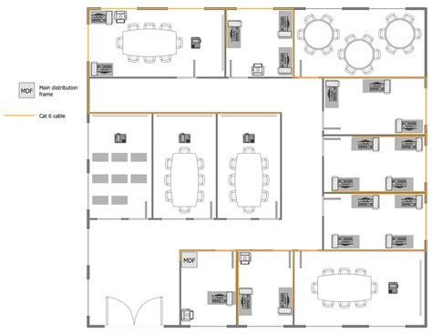 floor layout plans network layout floor plans solution conceptdraw