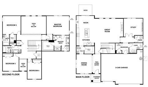 richmond homes floor plans silverthorn model dillon single family home home by