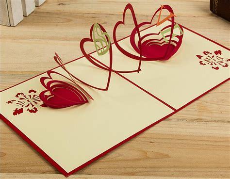 3d origami card hollow handmade kirigami origami 3d pop up greeting