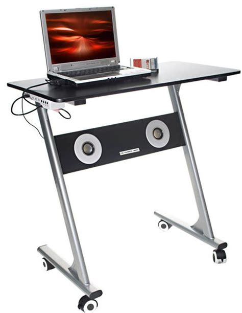 computer desk with built in computer coolbusinessideas computer desk with built in speakers