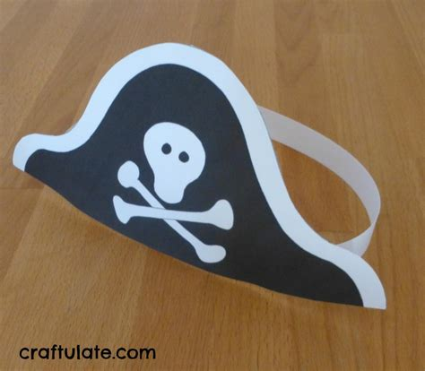 pirate crafts for could make hat like this and add veggie tale p fork and