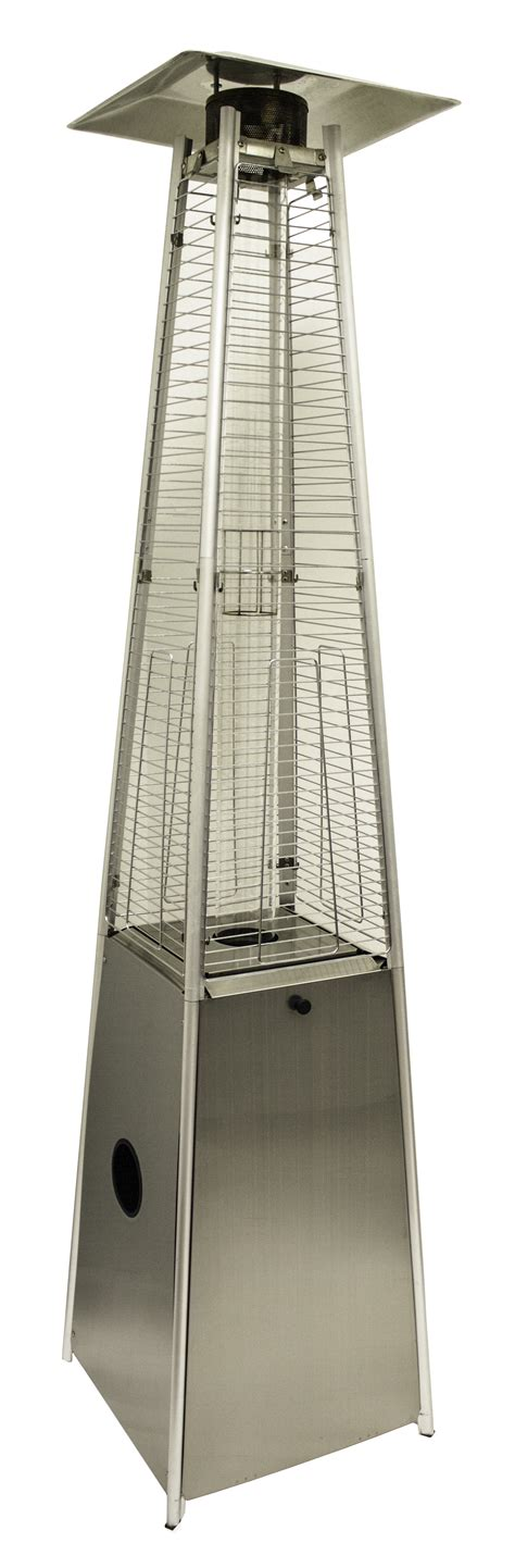 arizona patio heaters 91 quot stainless steel patio heater with quartz glass