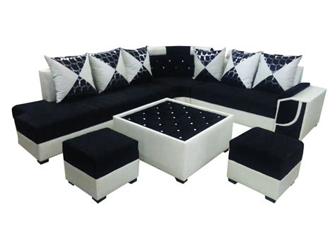 l shaped sofa table felicite l shape sofa set center table and 2