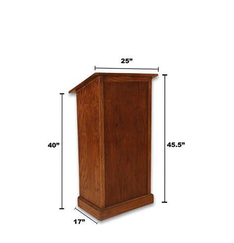 Woodwork Wood Podium Plans Pdf Plans