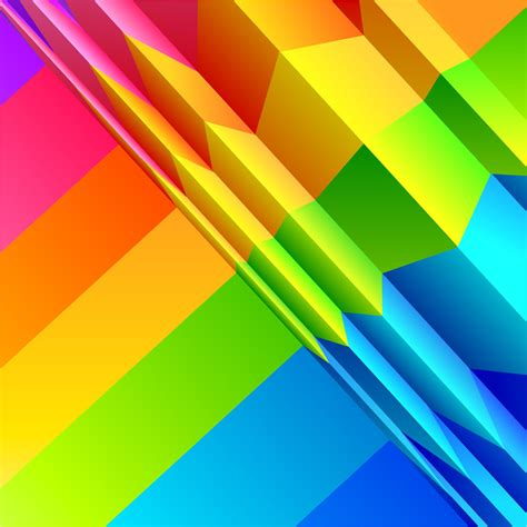 colorful origami colorful origami background free vector graphic