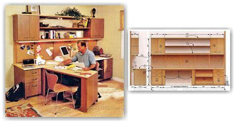 office desk plans woodworking home office furniture plans woodarchivist