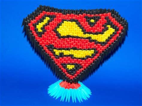 3d origami superman birthday paper diy tissue paper flowers tissue