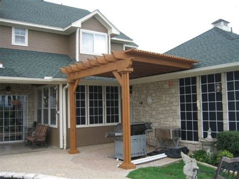 attaching pergola to roof pergola how is it attached to roof it s a