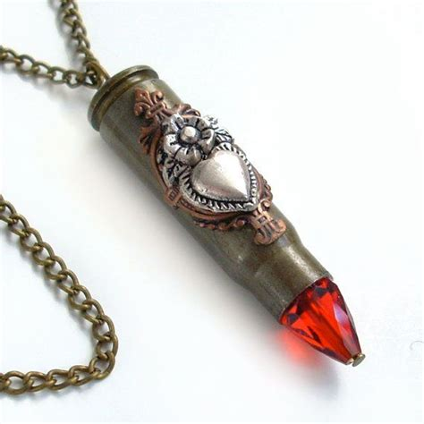 how to make bullet jewelry bullet necklace ammo jewelry aim for the