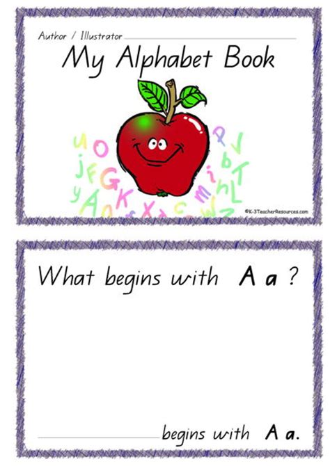 pictures for alphabet book printable alphabet book k 3 resources