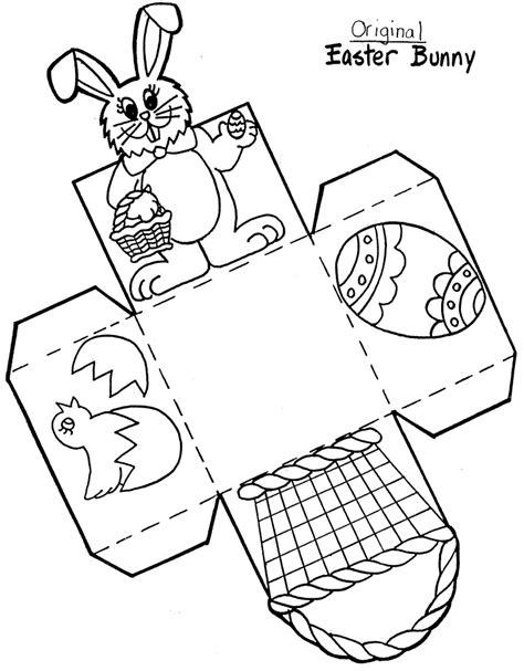 printable easter crafts for easter basket craft template crafts and worksheets for