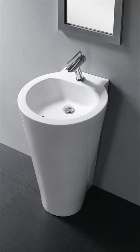 bathroom sinks modern modern pedestal sink durazza