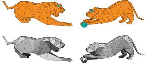 tiger origami customs house sydney origami tigers installation e